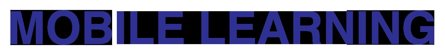 mobile learning logo