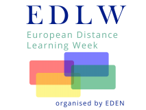 European Distance Learning Week logo