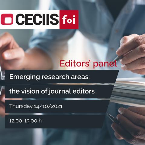Editors' panel CECIIS 2021