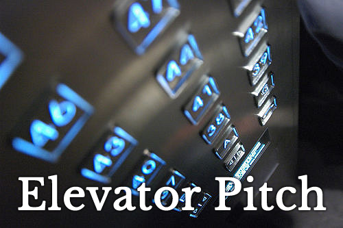 elevator pitch illustration