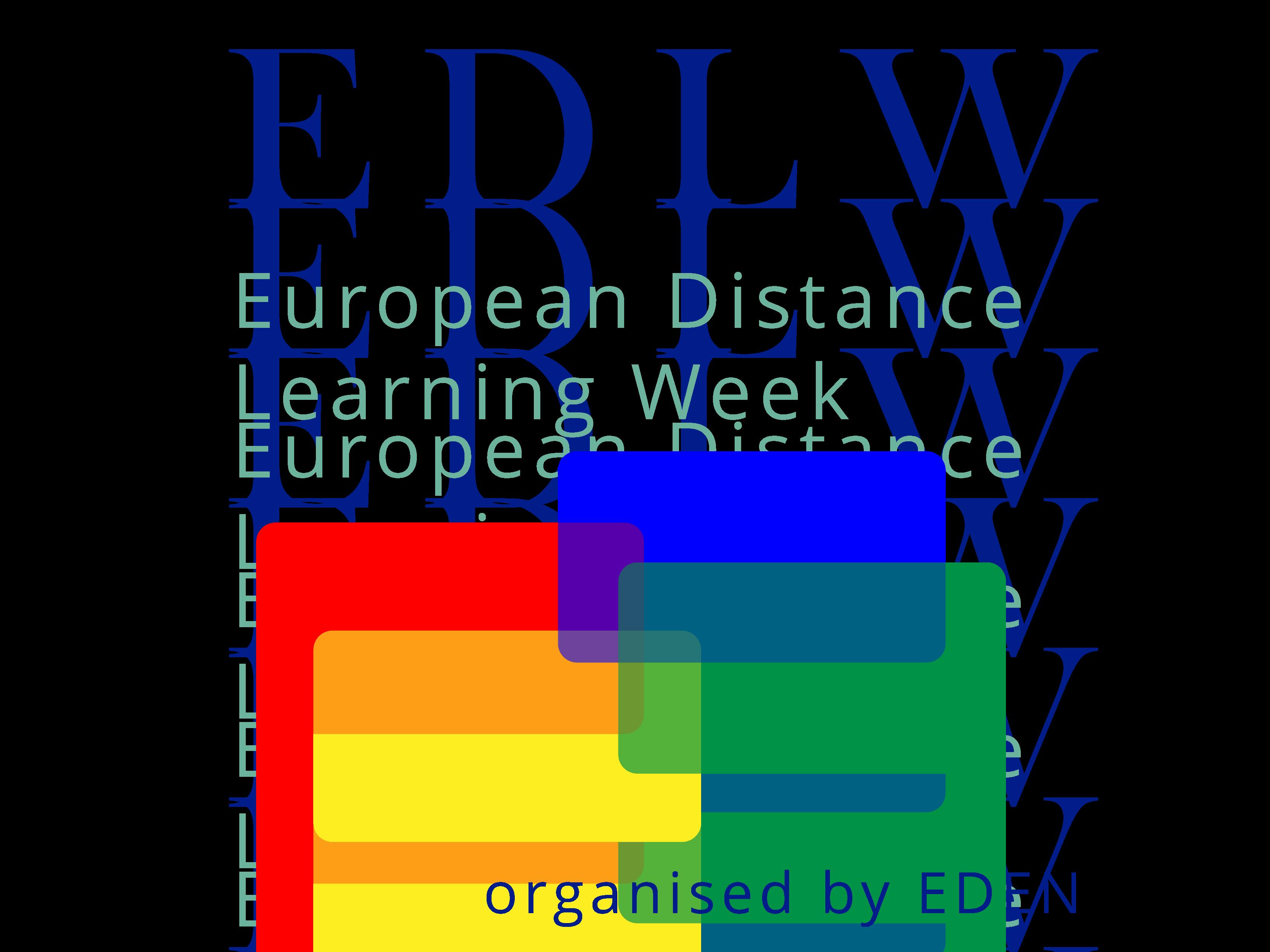 European Distance Learning Week logo